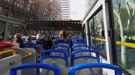 król : Sightseeing bus tour in Madrid Wideo
