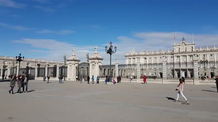 palacio real : The Royal Palace in Madrid called Palacio Real