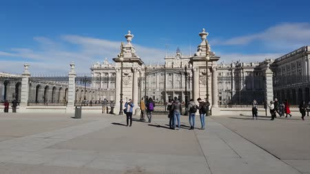 palacio real : Impressive Royal Palace in Madrid - the famous Palacio Real