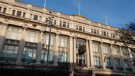 centrum : Clery and Co Building at O Connell Street in Dublin Dostupné videozáznamy