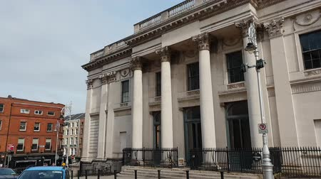 irsko : Dublin City Hall building at Castle Street