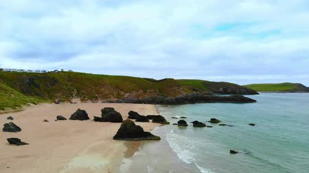lakes of scotland : Amazing Sango Sands beach at Durness in the Scottish Highlands