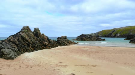 bretanha : Amazing Sango Sands beach at Durness in the Scottish Highlands