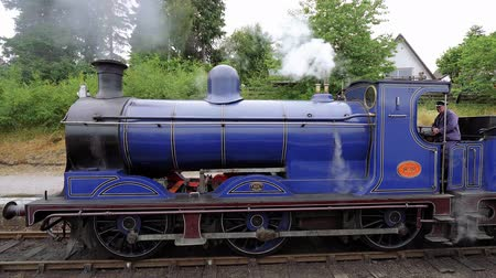 lakes of scotland : Famous Scottish Steam train in the highlands - a popular attraction