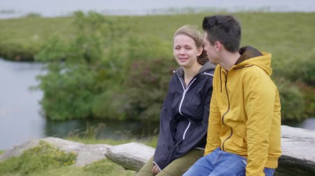 悪 : Two friends wander through the amazing landscape if Ireland