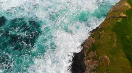awesome : The awesome wild nature of the Irish west coast from above
