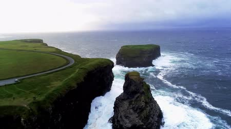 приморский : Flight over the wonderful landscape of the Irish west coast