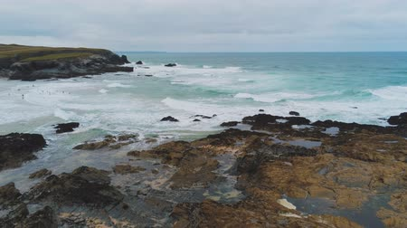 venkovský : The amazing Coast of Cornwall England with its rocky cliffs