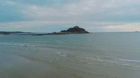 anglia : Mount Saint Michael in Cornwall - a popular landmark