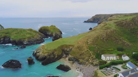 cornualha : Amazing landscape of Cornwall - the Cornish Coast at the Celtic Sea