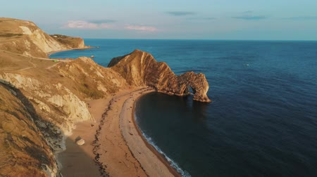 английский парк : Wonderful British coastline at Devon - Durdle Door