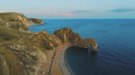 английский парк : Popular landmark in England - Durdle Door