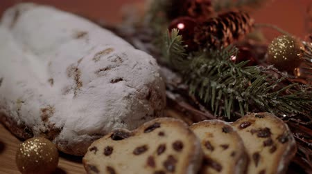adwent : The traditional Christmas cake from Germany the famous stollen