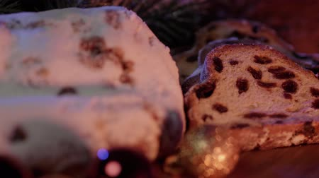 adwent : Baked Stollen a German specialty for Christmas