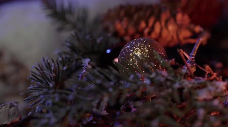 drewno : Christmas background shot beautiful decoration
