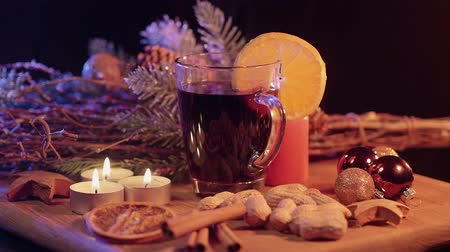 rodzynki : Hot and steaming mulled wine the perfect Christmas punch