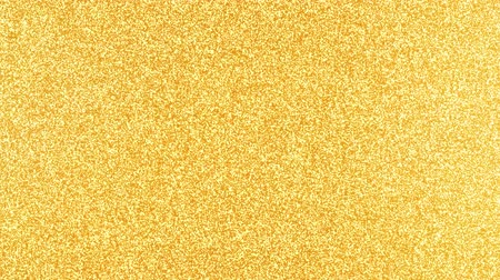 nagy felbontású : Golden Glitter Background in high resolution gold backdrop with reflections Stock mozgókép