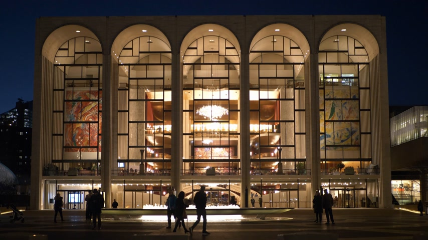 apple park : Metropolitan Opera called MET at Lincoln Center in Manhattan