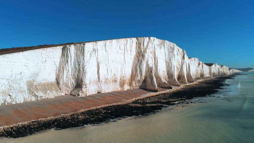 sette : Seven Sisters coastline in England with its white cliffs