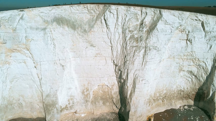 sedm : The White cliffs of Seven Sisters from above