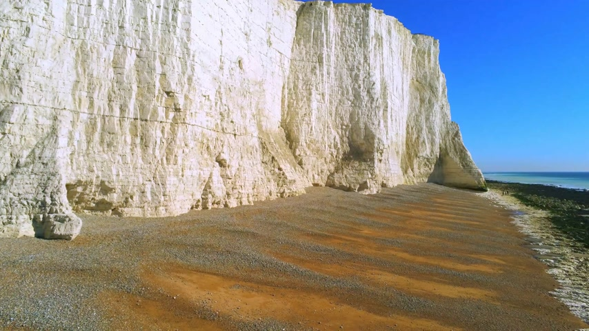 английский парк : The White cliffs of Seven Sisters from above