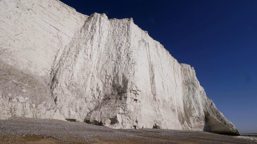 erodida : White Cliffs of Seven Sisters in Sussex England