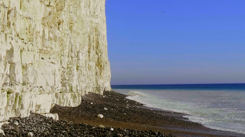 erodida : Burling Gap at Seven Sisters coast in Sussex