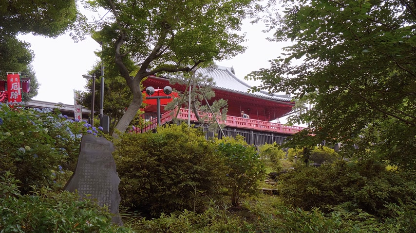 japonská kultura : The Kiyomizu Kannon Do Shrine at Ueno Park in Tokyo - TOKYO, JAPAN - JUNE 12, 2018 Dostupné videozáznamy