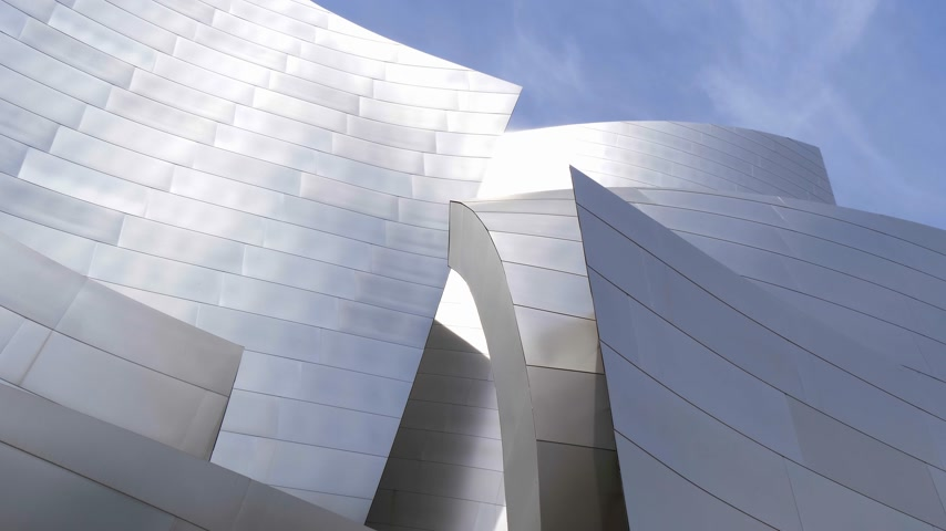 philharmonic : Walt Disney Concert Hall in Los Angeles - CALIFORNIA, USA - MARCH 18, 2019