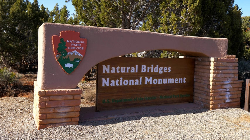tribales : National Bridges National Monument - UTAH, États-Unis - 20 mars 2019