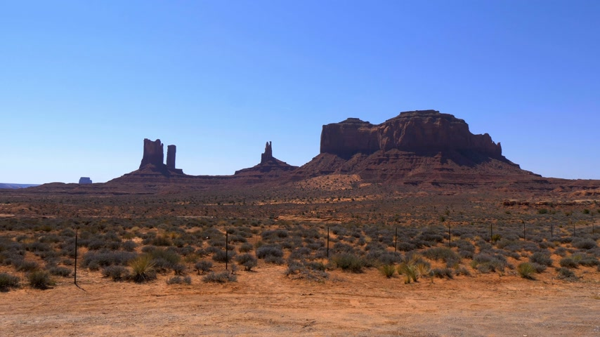 메사 : Oljato Monument Valley in Utah