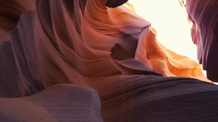 barlang : Antelope Canyon - amazing colors of the sandstone rocks