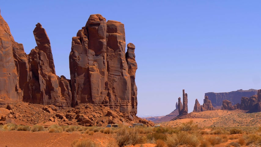 awesome : Monument Valley in Utah Oljato Stock Footage