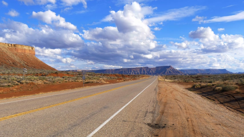 rota : Scenic route through Snow Canyon in Utah