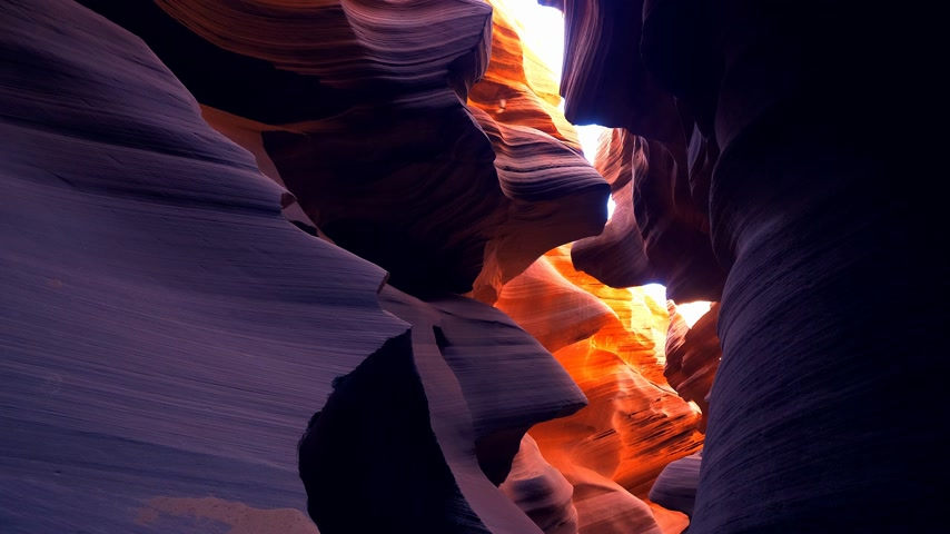 navajo : Lower Antelope Canyon in Arizona - most beautiful place in the desert