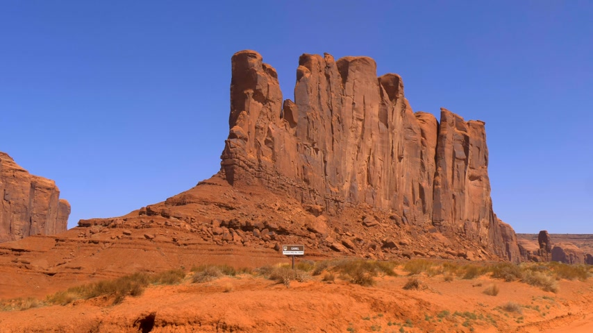 pryzmat : Famous Monument Valley in the desert of Utah