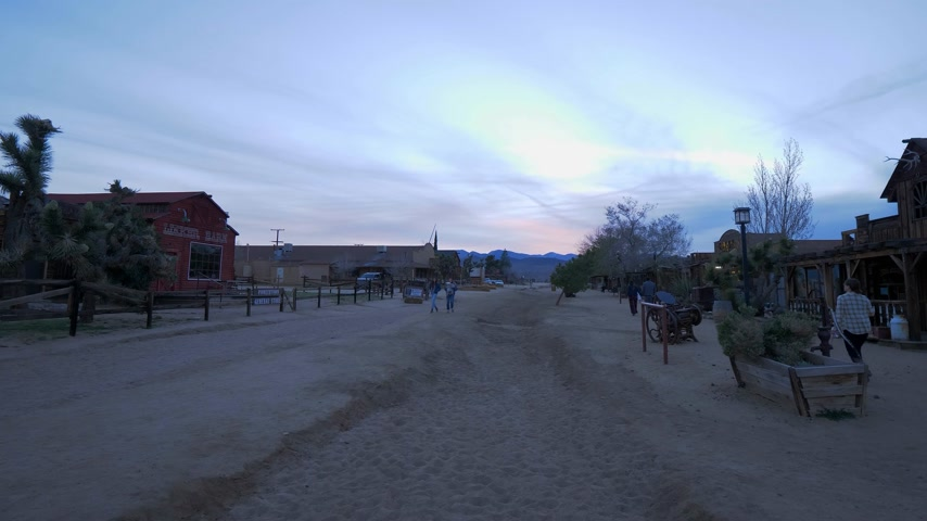 resmedilmeye değer : Pioneertown at the Morongo Basin in Calfornia - CALIFORNIA, USA - MARCH 18, 2019