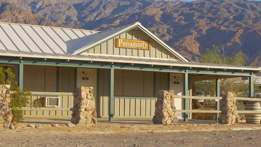 dead valley : Panamints Motel at Death Valley - BEATTY, USA - MARCH 29, 2019