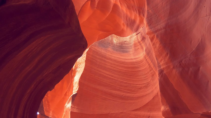 antilopa : Upper Antelope Canyon in Ariziona
