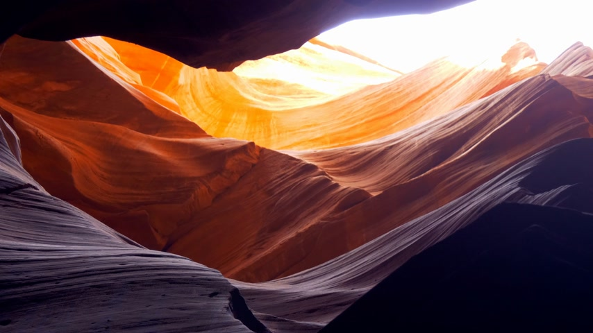sudoeste : Upper Antelope Canyon in Ariziona