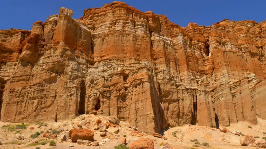 arenisca : Parque estatal Red Rock Canyon en California
