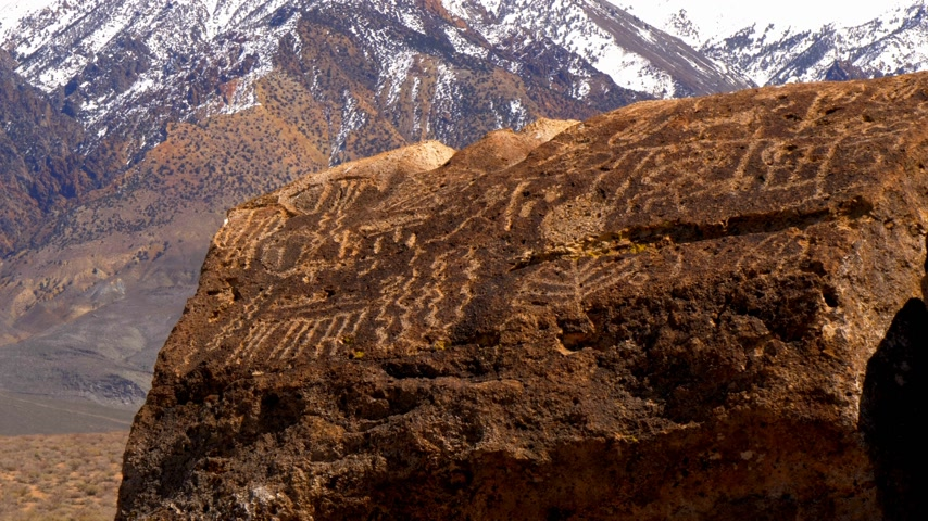piskopos : Ancient Petroglyphs at Chalfant Valley in the Eastern Sierra