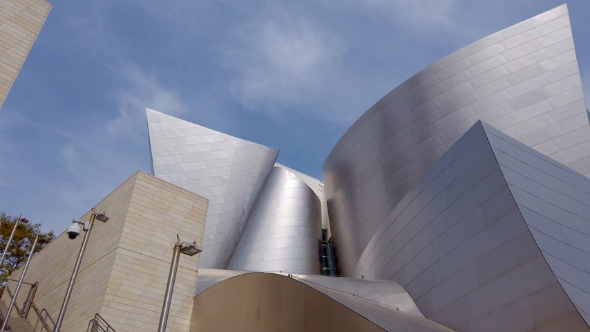 orchestre : Walt Disney Concert Hall à Los Angeles Downtown - LOS ANGELES, USA - 1 avril 2019