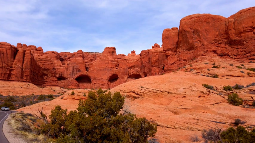 sudoeste : Arches National Park on a sunny day - travel photography