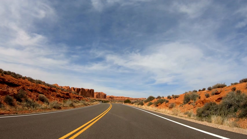 ginepro : Guidare attraverso Snow Canyon in Utah