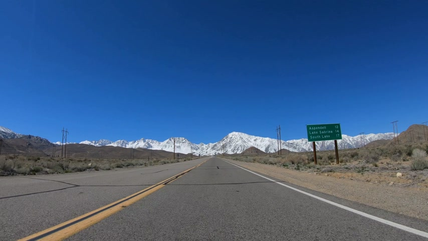 tripping : Drive through Inyo County and Yosemite in California