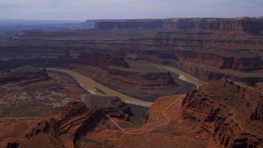 moab : View over Dead Horse Point in Utah
