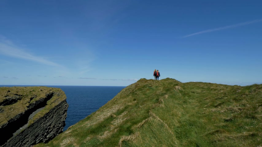 kelt : Amazing Atlantic coast of Ireland with its steep cliffs