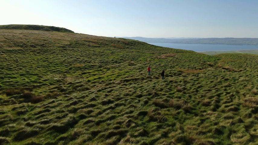 irlandês : The infinite grasslands of Binenenagh in North Ireland
