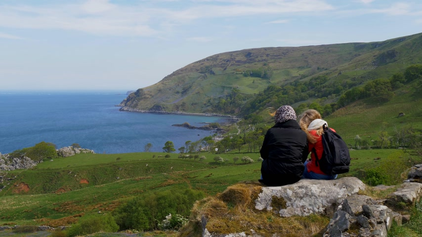 north bay : Beautiful Murlough Bay in Northern Ireland